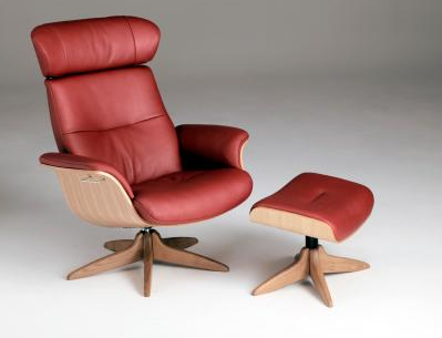 Time Out Recliner Chair & Foot Stool