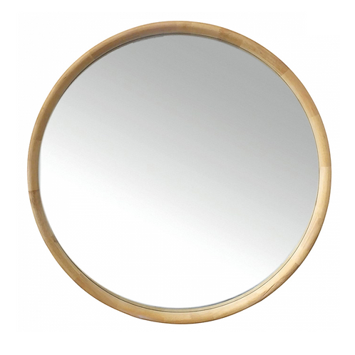 Ingo Round timber Mirror