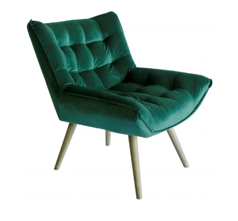 Bailey Emerald Velvet Chair