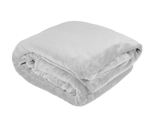 Ultra Plush Blanket Silver