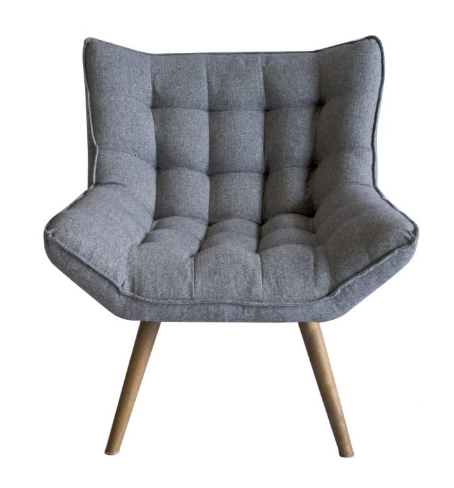 Bailey Grey Tweed Chair