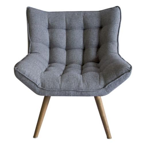 Bailey Grey Tweed chair