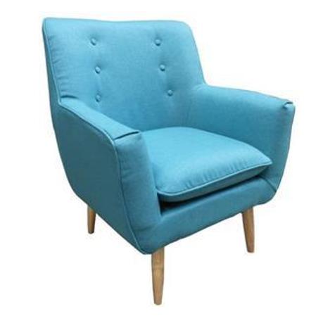 Retro armchair Aqua