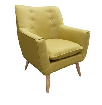 Retro Armchair Green