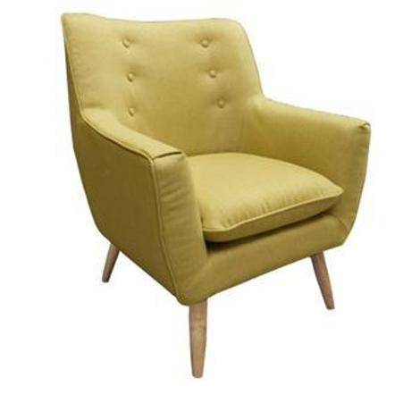 Retro armchair green