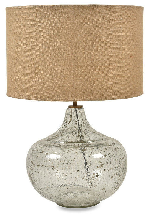 Round Glass Lamp