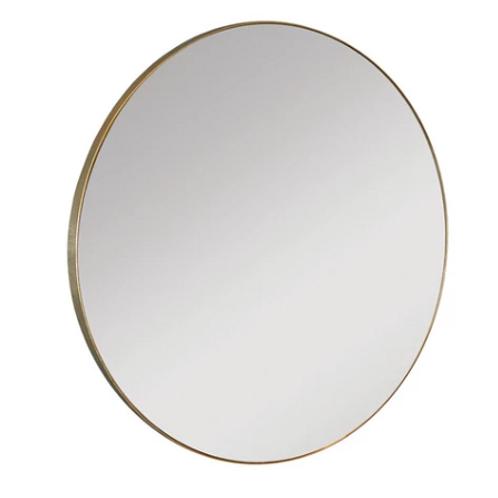 Gold Rim Mirror Large