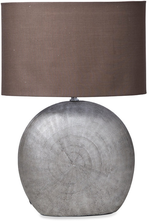Gale Table Lamp Silver