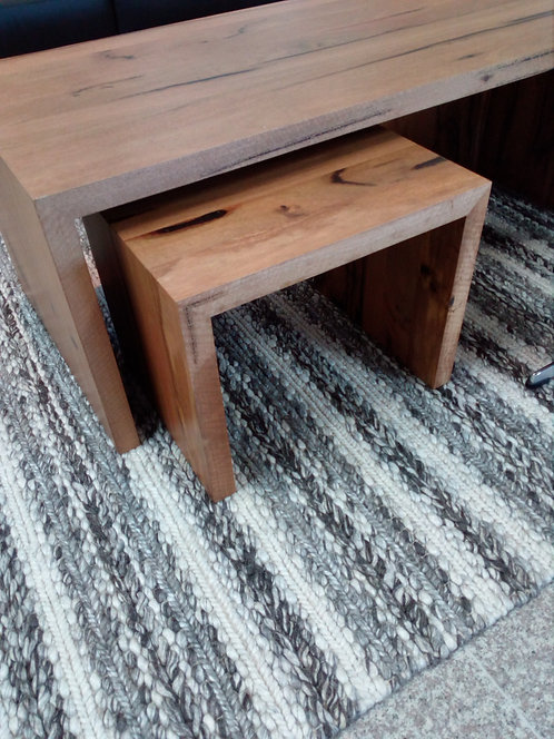 Nest of Marri Coffee Table & Side Tables