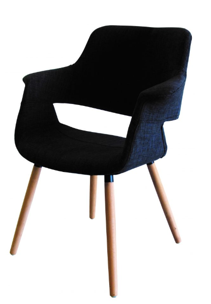 Bailey chair charcoal