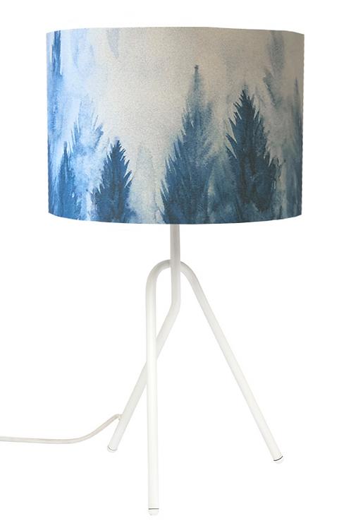Blue Pines Lamp 50x28cm