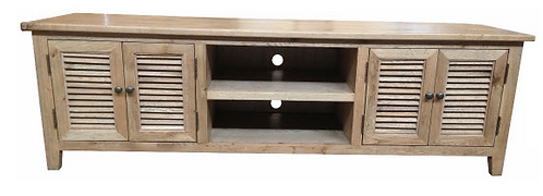 Lourdes Oak TV 4 dr TV Unit