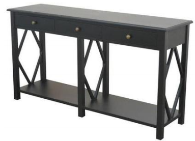 Shorehaven Console with drws Black