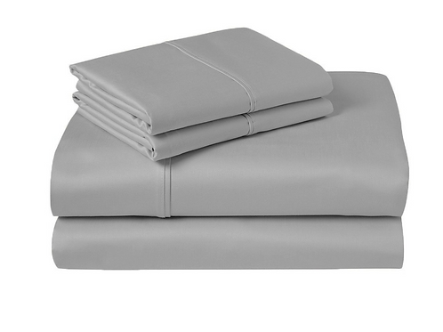 Luxe Egyptian Cotton 1000 TC Sheet Set Grey