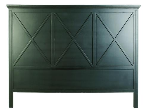 Mantle Headboard Black