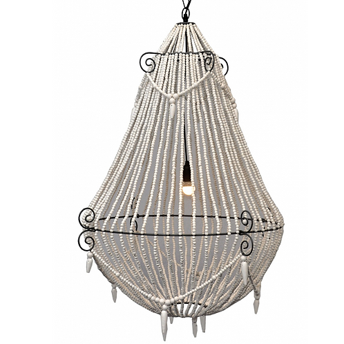 Marley Beaded Ceiling Light 70x45cm