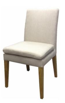Flax chair linen