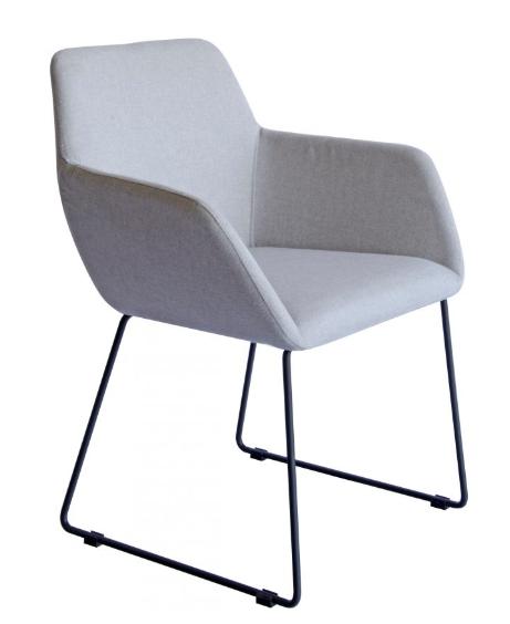 Peta chair grey