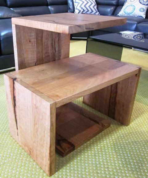 Blackbutt C Side Tables