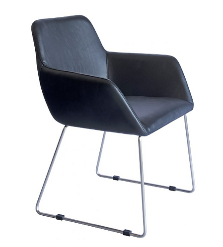 Peta chair black PU