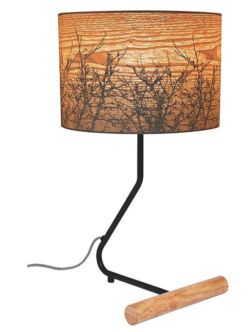 White Winter Table Lamp 50x28cm