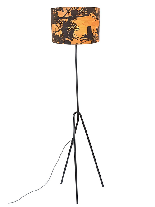 Coastal Banskia Floor Lamp 150x40cm