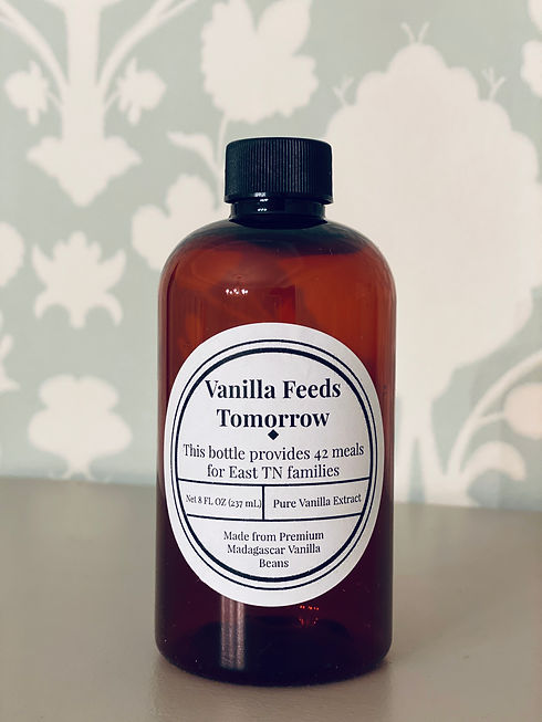 vanilla extract, non-profit, vanilla feeds tomorrow, fight hunger, tennessee