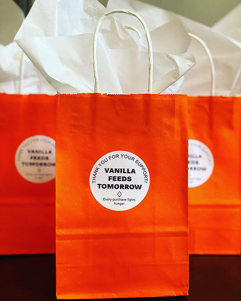non-profit, vanilla feeds tomorrow, gift wrapping, fight hunger
