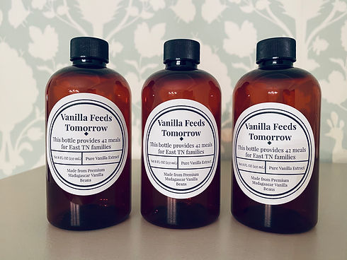 Vanilla Feeds Tomorrow, Vanilla Extract, Tennessee, non-profit, fight hunger
