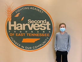 Vanilla Feeds Tomorrow, Second Harvest Food Bank of East Tennessee, non-profit, teen, William Cabaniss