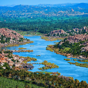 The ancient place of art and architecture: Hampi