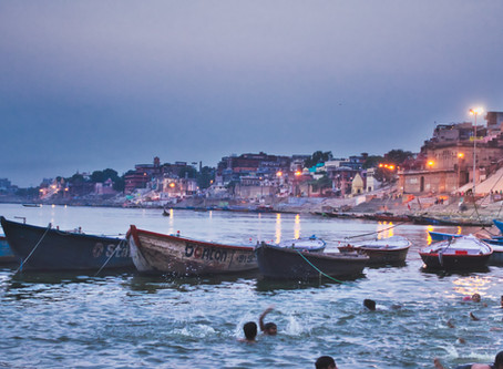 The holy city: Varanasi