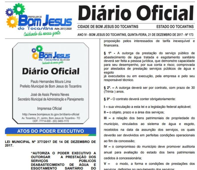 Prefeitura estabelece data do Recesso de Fim de Ano