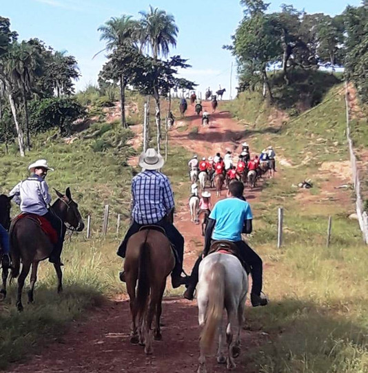 Com apoio da prefeitura, tropeada percorreu cerca de 80 km no município de Bom Jesus do Tocantins