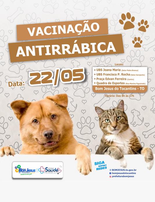 Campanha de Vacinação Antirrábica 2021