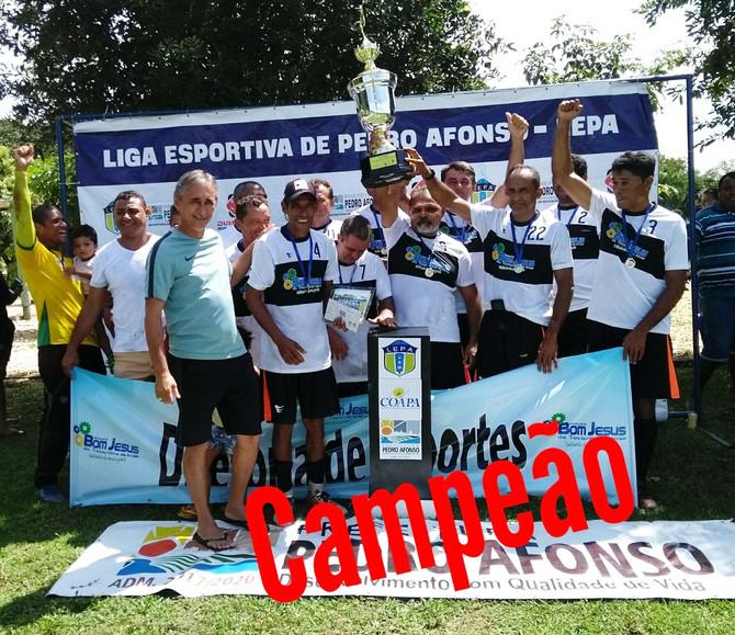 Equipe de Futebol Society Máster 40 de Bom Jesus do Tocantins leva título