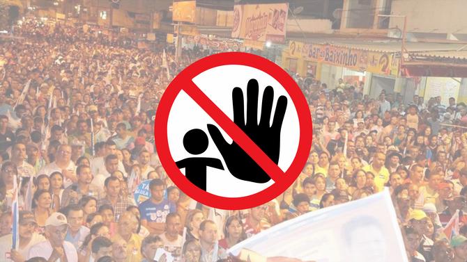 Decreto proíbe realização de comícios e carreatas durante o período eleitoral no município.