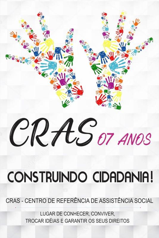 CONVITE: Secretaria mul. de Assistência Social comemora 7º aniversário do CRAS com grande festa