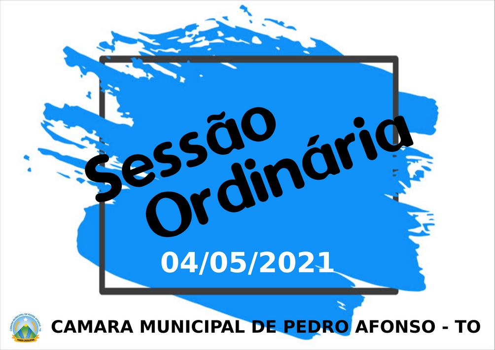 Projetos importantes são apresentados na Sessão Ordinária do último dia 04