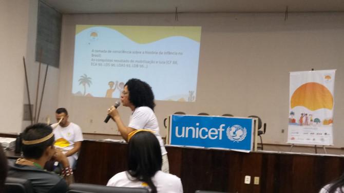 Profissionais da Assistência Social e Saúde de Bom Jesus participam de capacitação do Unicef em Palm