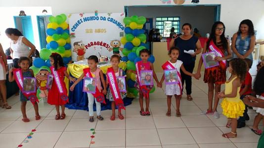 CEMEI Mundo da Criança comemora seus 22 anos de criação