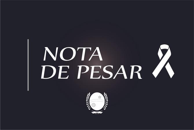 Nota de Pesar pelo falecimento da Sra. Maria Pereira Neves