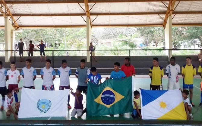 Diretoria de Esportes e Escola Est. Alfredo Nasser realizam 1º Torneio Interclasse