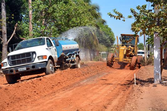 Pavimentação: Prefeitura dá início a obra de infraestrutura com recursos próprios