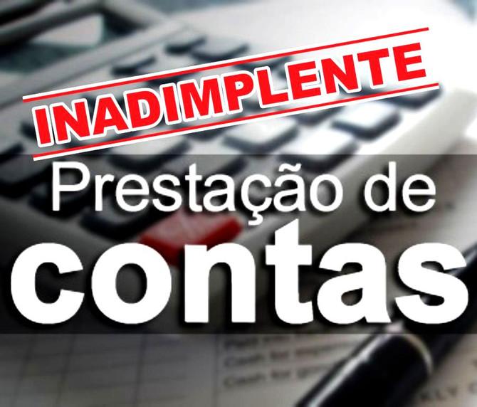Município encontra-se Inadimplente por falta de envio do SICAP Contábil, exercício 2016