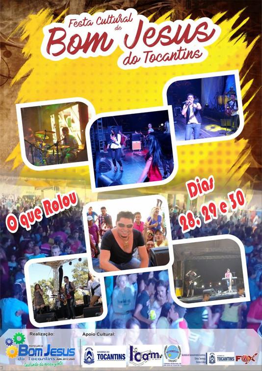 Festa Cultural movimenta Bom Jesus do Tocantins, durante o fim de semana