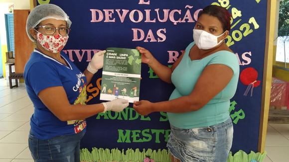Secretaria de Meio Ambiente desenvolve ação nas escolas do município