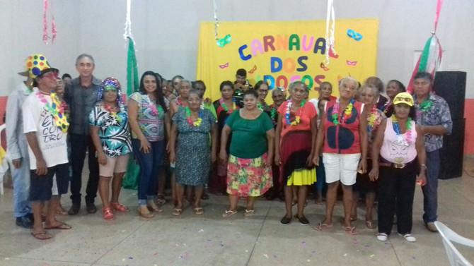 Secretaria de Assistência Social promove o Carnaval dos Idosos.
