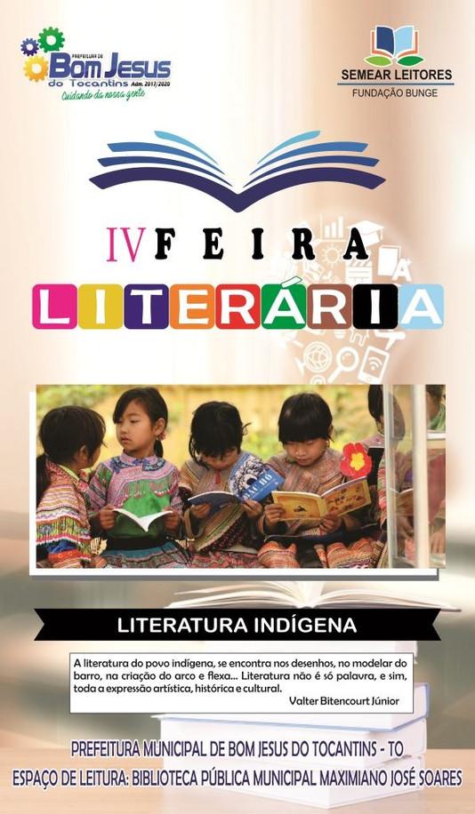Semec convida população para a IV Feira Literária do município