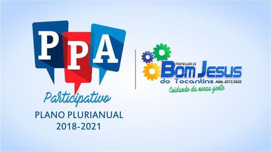 Convite Audiência Pública PPA - Plano Plurianual 2018-2021